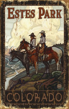 Couple on Horses