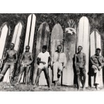 Guys and Surf Boards